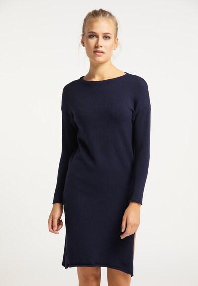 usha BLUE LABEL Robes en maille en bleu nuit, Vue avec modèle