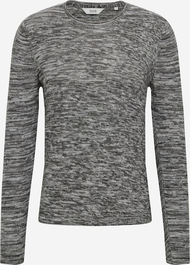 !Solid Sweater in Light grey / Black, Item view