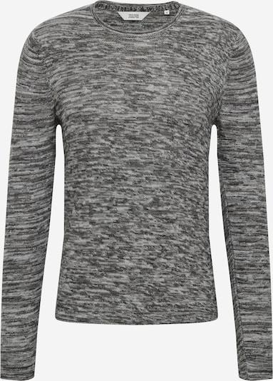 !Solid Pullover in hellgrau / schwarz, Produktansicht