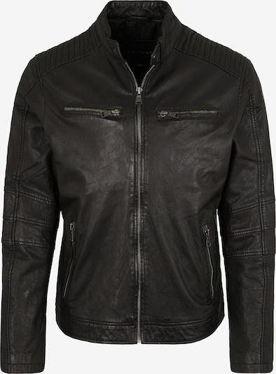 CAPITANO Lederjacke in schwarz, Produktansicht