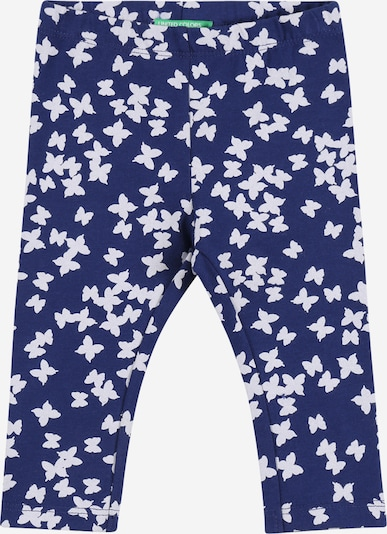 UNITED COLORS OF BENETTON Leggings en marine / blanc, Vue avec produit