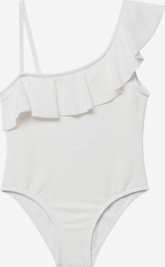 MANGO KIDS Badeanzug in weiß, Produktansicht