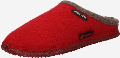 GIESSWEIN Slipper 'Dannheim' in Brown / Red, Item view