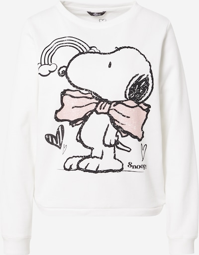 PRINCESS GOES HOLLYWOOD Sweatshirt in pastellpink / schwarz / offwhite, Produktansicht