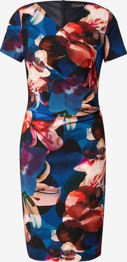 Vera Mont Cocktailkleid in dunkelblau / hellbraun / mischfarben / rot, Produktansicht