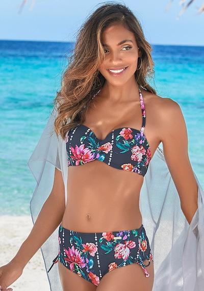 SUNSEEKER Bikini-Hose in navy / mischfarben, Modelansicht