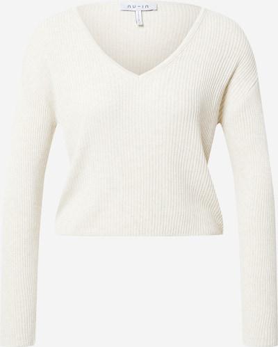 NU-IN Pullover in weiß, Produktansicht