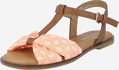 TOM TAILOR Sandalen met riem in de kleur Chamois / Zalm roze, Productweergave