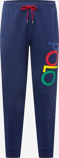 POLO RALPH LAUREN Nohavice - námornícka modrá / zmiešané farby, Produkt