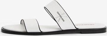 Calvin Klein Jeans Pantolette in Weiß