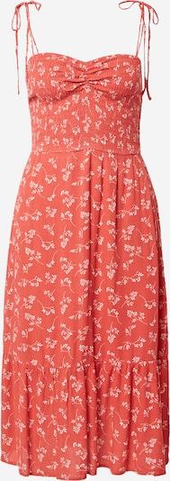 Abercrombie & Fitch Kleid in melone / weiß, Produktansicht