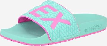 adidas Terrex Beach & Pool Shoes in Blue