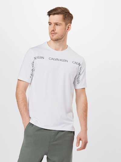 Calvin Klein Performance Functional shirt in black / white: Frontal view