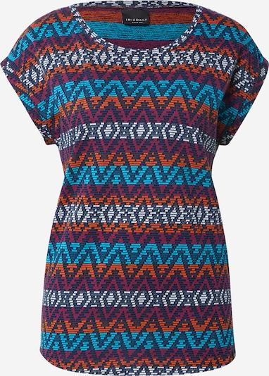 Maglietta 'Lettie' Iriedaily di colore marino / blu neon / arancione neon / nero / bianco, Visualizzazione prodotti