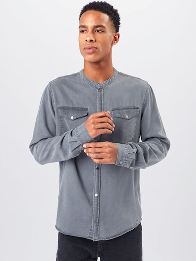 tigha Shirt 'Gent' in Grey: Frontal view