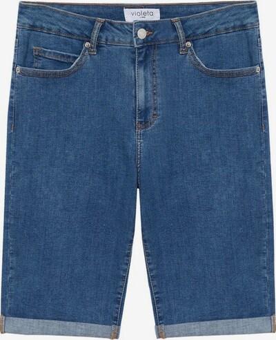 VIOLETA by Mango Jeans 'soda' in de kleur Blauw, Productweergave