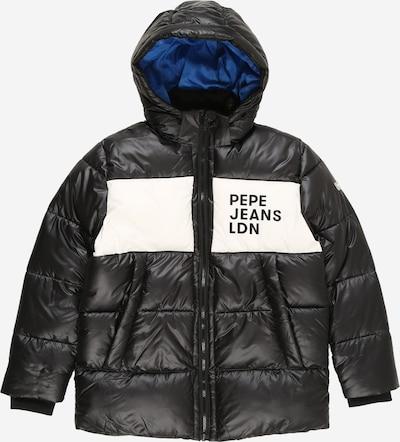 Pepe Jeans Jacke 'NOLAN' in blau / schwarz / weiß, Produktansicht