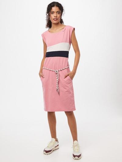 rózsaszín / fekete / fehér Ragwear Nyári ruhák 'Taraya', Modell nézet