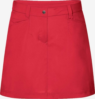 JACK WOLFSKIN Rock 'Sonora Skort' in rot, Produktansicht