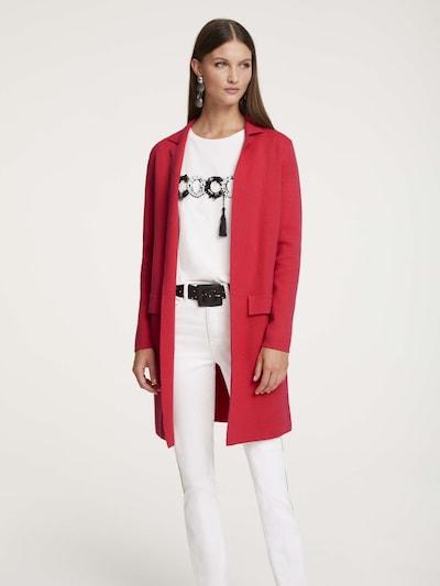 heine Mantel in rot, Modelansicht
