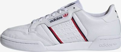 ADIDAS ORIGINALS Sneakers low 'Continental 80' in red / black / white, Item view