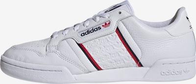 ADIDAS ORIGINALS Sneaker 'Continental 80' in rot / schwarz / weiß, Produktansicht