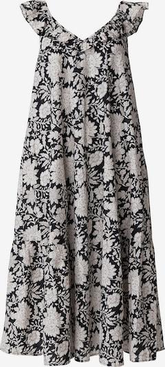 Indiska Kleid 'MALO' in schwarz / weiß, Produktansicht