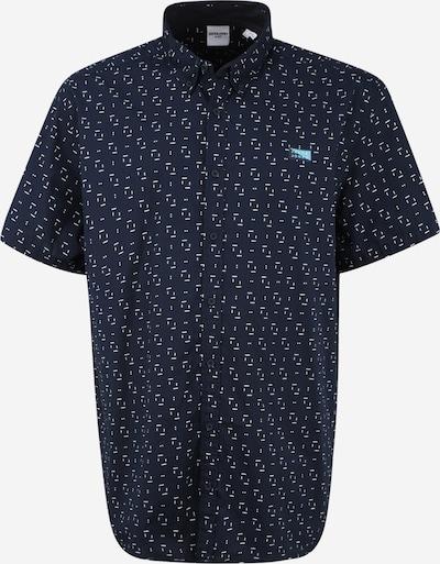 Jack & Jones Plus Košeľa 'TEXAS' - námornícka modrá / svetlomodrá / biela, Produkt