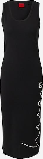 HUGO Robe d'été 'Namadra' en noir / blanc, Vue avec produit