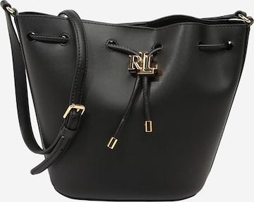 Geantă tip sac 'ANDIE' de la Lauren Ralph Lauren pe negru