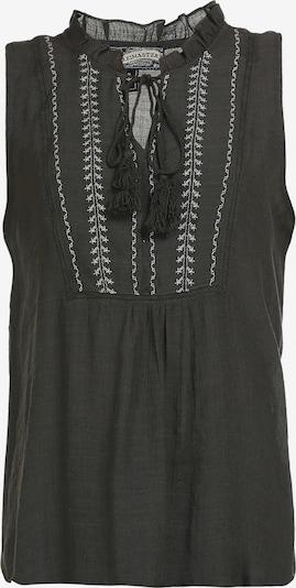 DreiMaster Vintage Bluse in anthrazit, Produktansicht