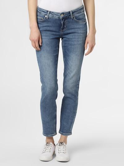 Cambio Jeans ' Liu ' in blau, Modelansicht