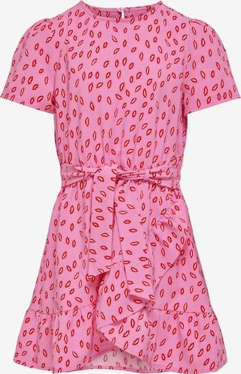 KIDS ONLY Kleid 'Solveig' in pink / rot / weiß, Produktansicht