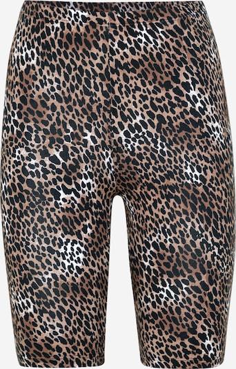 VILA Pantalon 'COOL' en marron / noir, Vue avec produit