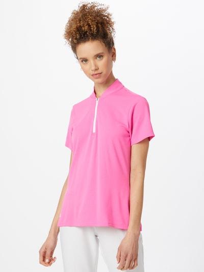 adidas Golf Sport-Shirt in pink: Frontalansicht