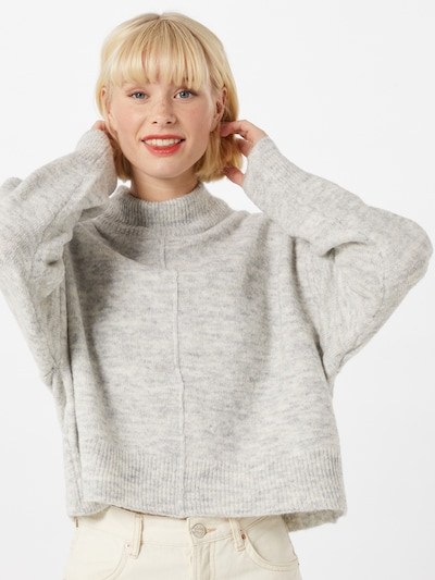 Gina Tricot Pullover 'Maggie' i lysegrå, Modelvisning