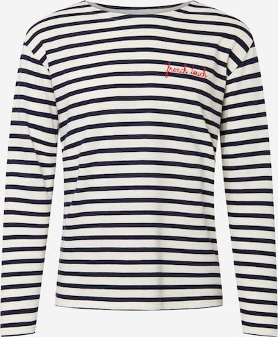 Maison Labiche T-shirt i blå / vit, Produktvy