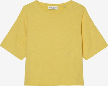 Marc O'Polo Pullover in Gelb