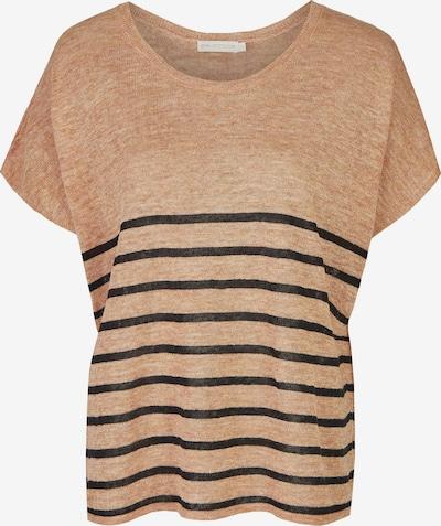 eve in paradise Shirt 'Harriet' in dunkelbraun / braunmeliert, Produktansicht