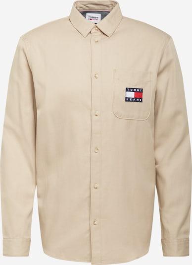 Tommy Jeans Paita värissä beige / yönsininen / punainen / valkoinen, Tuotenäkymä