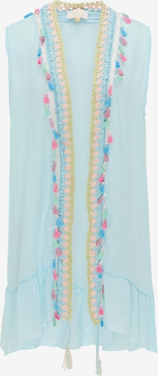 usha FESTIVAL Vest in Turquoise / Light blue / Pink, Item view