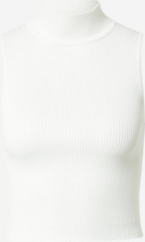 Missguided Gebreide top in Wit