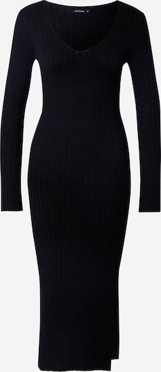 Rut & Circle Robes en maille 'ZANDY' en noir, Vue avec produit
