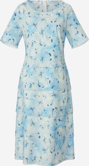 mayfair BY PETER HAHN Kleid in blau / hellblau / weiß, Produktansicht