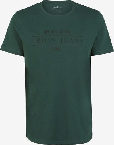 Cross Jeans T-Shirts in dunkelgrün, Produktansicht