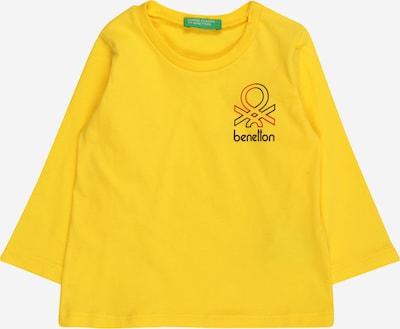 UNITED COLORS OF BENETTON Majica u žuta / crvena / crna, Pregled proizvoda