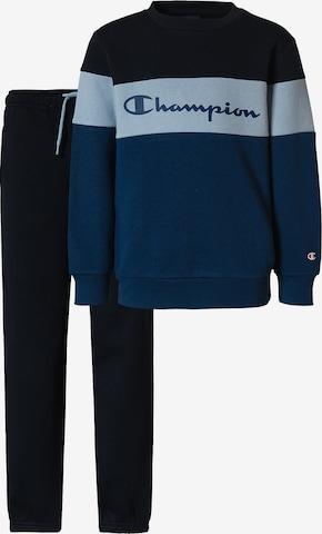 Champion Authentic Athletic Apparel Jogginganzug in Blau
