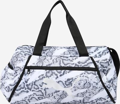 PUMA Športna torba | siva / črna / bela barva, Prikaz izdelka