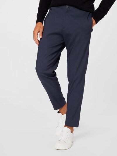SELECTED HOMME Панталон Chino в нейви синьо: Изглед отпред