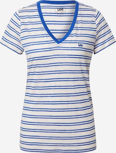 Lee Shirt in royalblau / weiß, Produktansicht